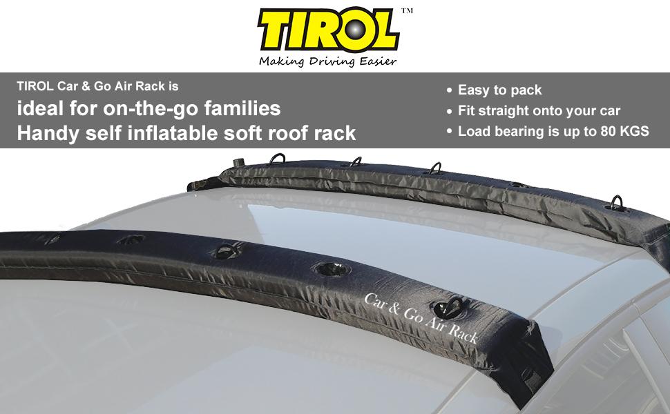 Amazon Com Tirol New Pair Universal Auto Inflatable Top