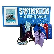 swimming sports gifts medal awards display rack hanger gift