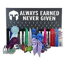 running sports gift medal display hanger rack awards