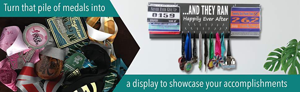 medal display gifts awards hanger sports running marathon