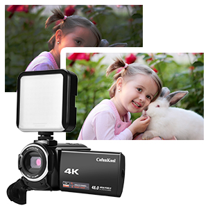 4k video camera camcorder