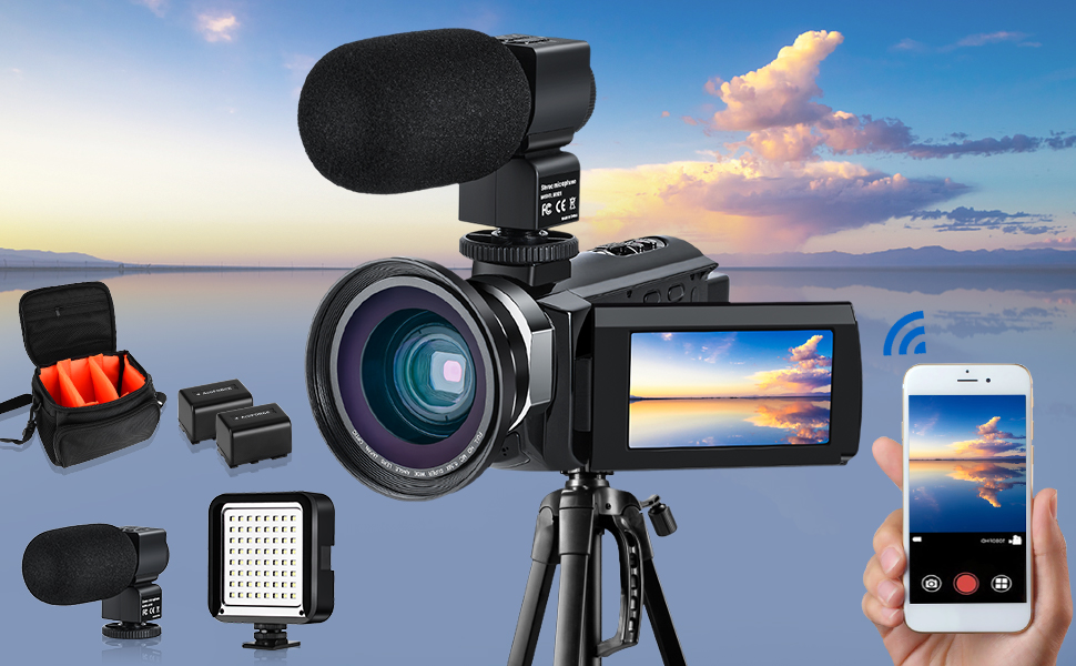4k camera camcorder