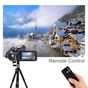 camcorder with remote