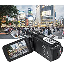 camcorder with motion detection