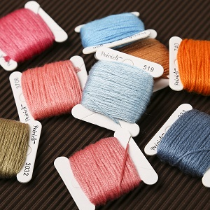 Embroidery Floss with Floss Bobbins