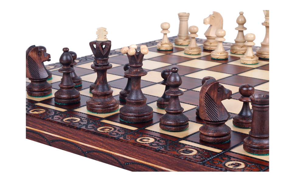 unique chess sets the jarilo unique wood chess set pieces 29893