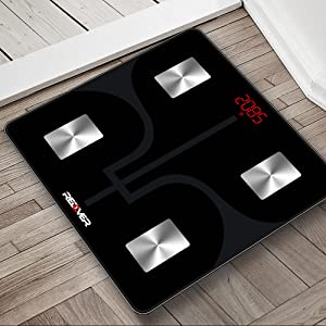 Redover Bluetooth Body Fat Smart fitness scale step on technology