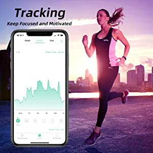 Redover Bluetooth Body Fat Smart Fitness Scale Tracking Health Trends