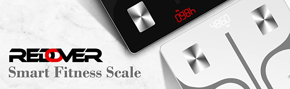 Redover Bluetooth Body Fat Smart Fitness Scale