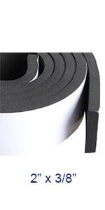window rubber foam seal strip