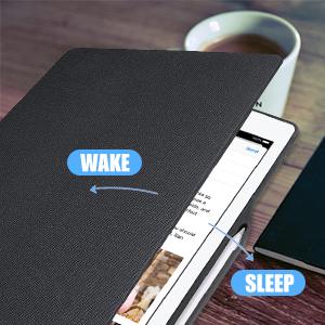 Auto sleep and wake function