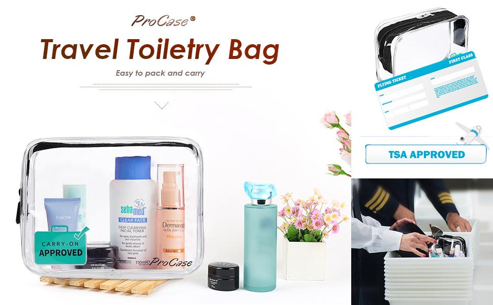 International Travel Liquids Bag Size