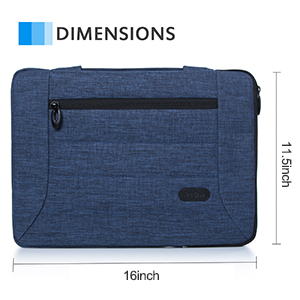 ProCase 14-15.6 Inch Laptop Sleeve Case Cover Bag for MacBook Pro, Most 14 15 Inch Laptop Ultrabook Notebook Chromebook Lenovo Dell Toshiba HP ASUS ...