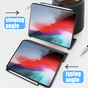 viewing and typing