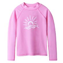 pink long sleeve sun shirt