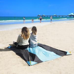 Amazon.com: HOMFREEST - Manta de playa a prueba de arena, 55 ...