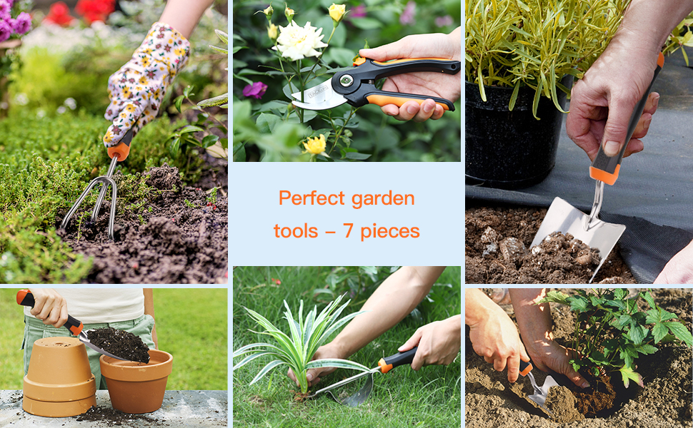 Meet all kinds of gardening work needs