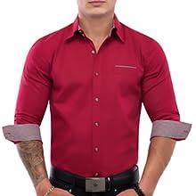 Red Shirts, Christmas Shirts, Party Shirt, Shirt, Men, TAM WARE, TOMSWARE