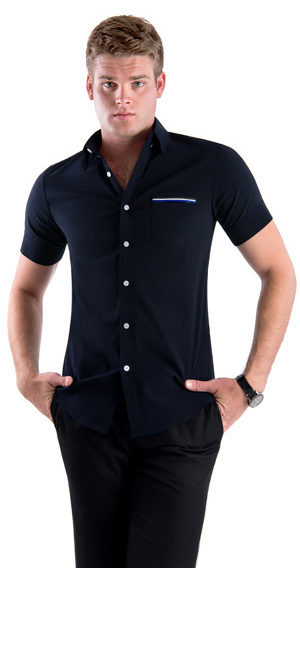 Tom's Ware Mens Casual Chest Pocket Short Sleeve Winkle Free ...