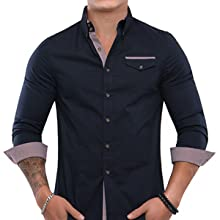 Black Shirts, Shirts, men, Dress shirts,casual Shirt, Winter, TAM WARE, TOMSWARE