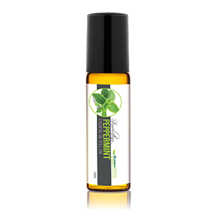 peppermint essential oil roll on, aromatherapy peppermint roll-on