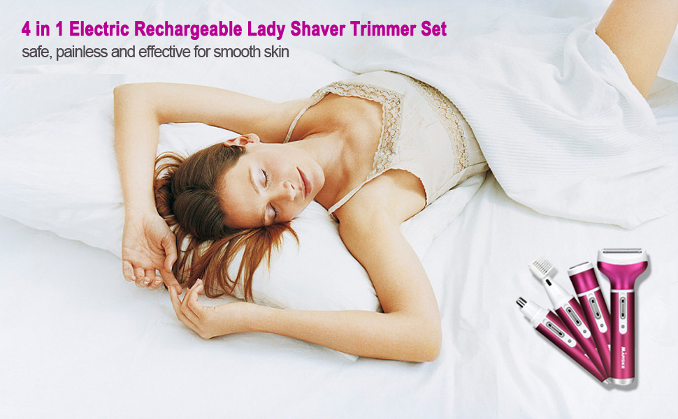 4 In 1 ELECTRIC HAIR REMOVAL KIT