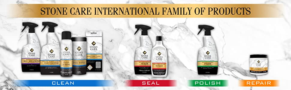 Stone Care International Line of Products