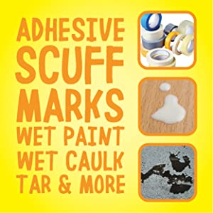 adhesives scuff marks wet paint wet caulk tar and more