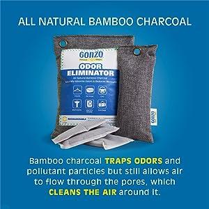 All Natural Bamboo Charcoal