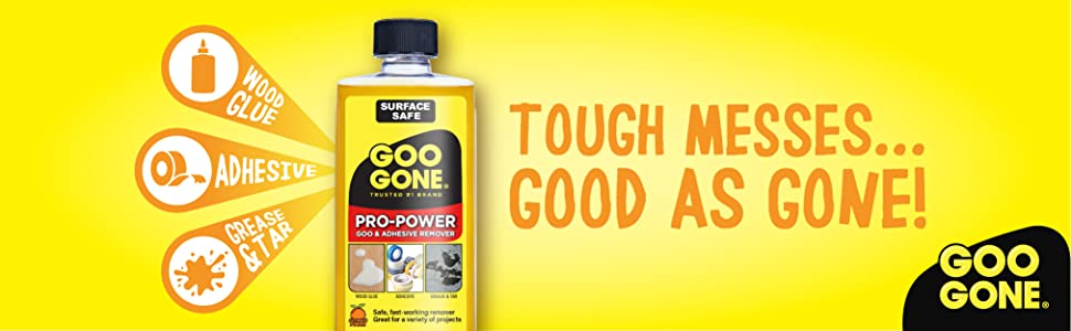 Tough Messes Good As Gone!