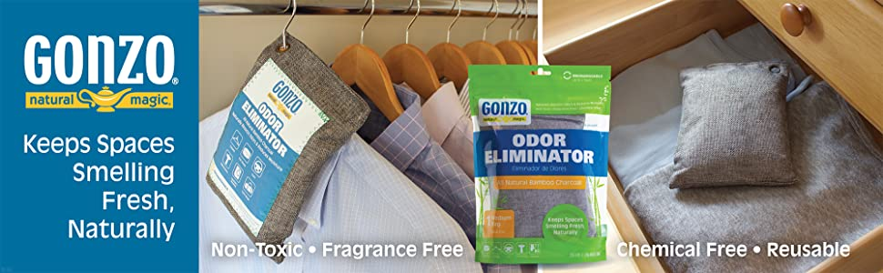 Gonzo Keeps Spaces Smelling Fresh Naturally