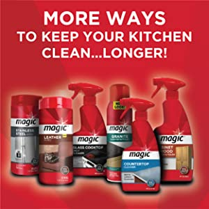 More ways to clean!