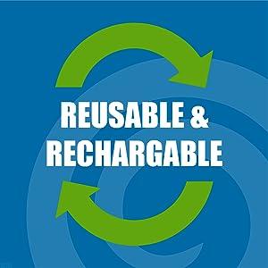 Reusable Rechargable
