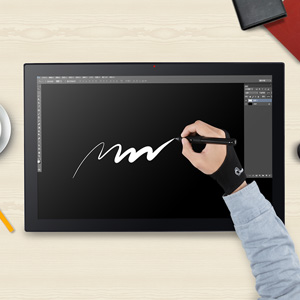 graphic tablet with display