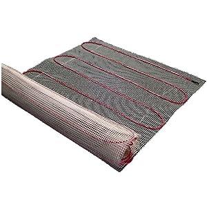 Amazon Sqft Mat Electric Radiant Floor Heat Heating System Aube Digital