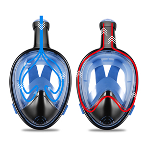 Vaincre 180° Full Face Snorkel Mask with Panoramic View