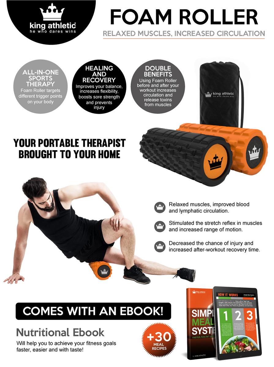 Buy foam roll physical therapy - When You Purchase The King Athletic Foam Roller Today Here S What You Should Do