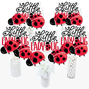 Party Supplies Little Ladybug Basic Party Pack 77 Pieces