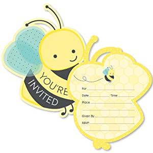 Amazon.com: Honey Bee – con forma de llenar invitaciones ...