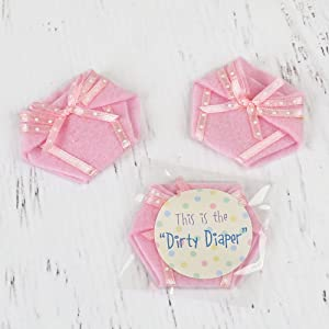 The Dirty Diaper Game Is A Funny Baby Shower Game For A Baby Girl Shower