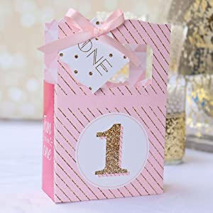 Set Of 12 Fun To Be One Favor Boxes