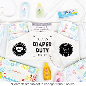 Amazoncom Daddys Diaper Duty Device Funny New Baby Gifts For