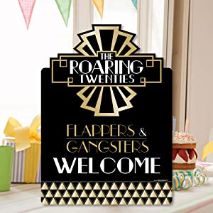 Amazon.com: Big Dot of Happiness Roaring 20's - Party ...