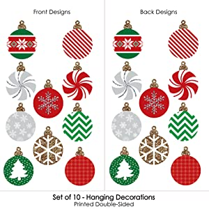 outdoor christmas ornaments hanging porch tree yard decorations are reusable waterproof weather resistant - Hanging Outside Christmas Decorations