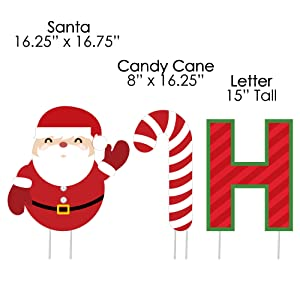 amazon com merry christmas yard sign outdoor lawn decorations