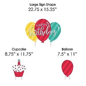 Amazon Colorful Happy Birthday