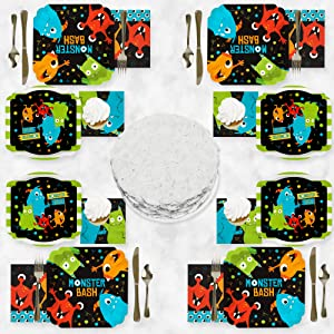 Monster Bash Tableware