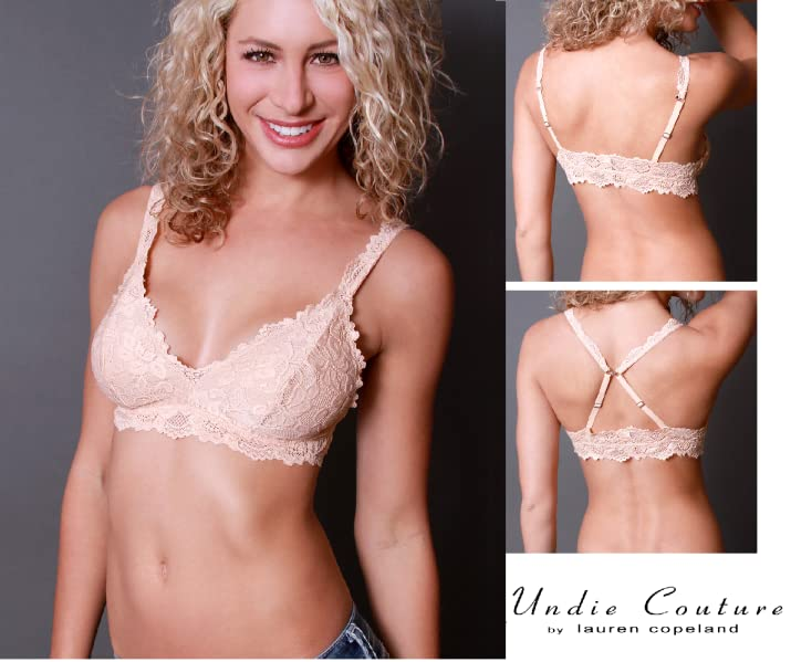 dd1b3426fd2 Introducing The Undie Couture Classic Lace Bralette! This new collection is  a feminine