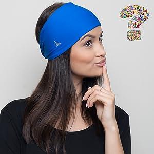 Amazon.com  French Fitness Revolution Yoga Headbands for Women ... 4f6657abc6f8