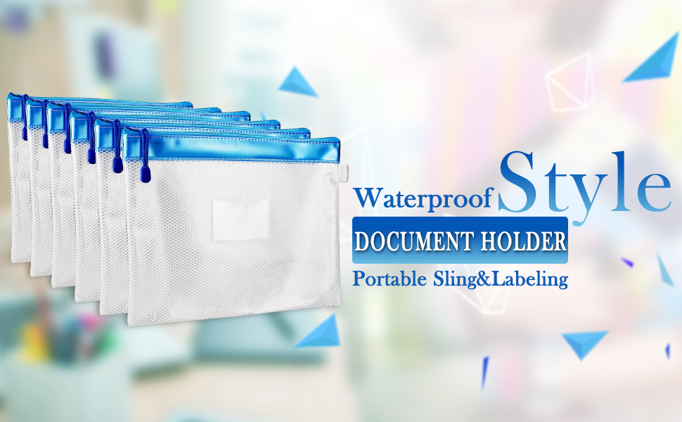 A4 SIZE WATERPROOF DOCUMENT HOLDER